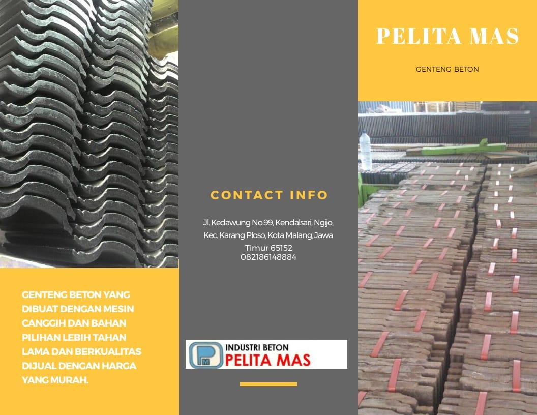 HP/WA 0821-8614-8884, Jual Genteng Beton